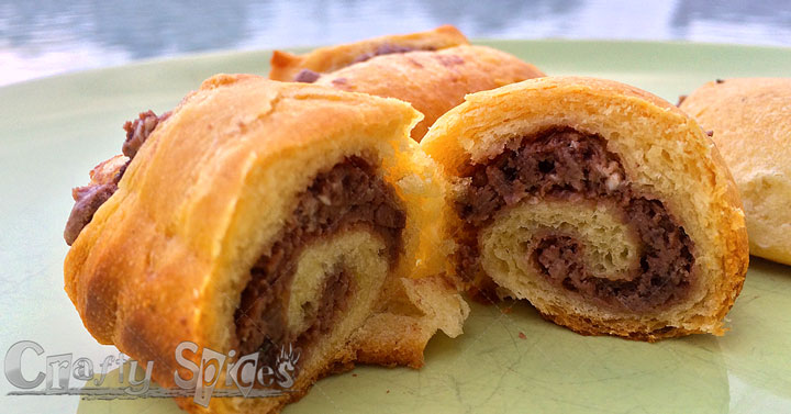 Chocolate Mini Crescent Rolls