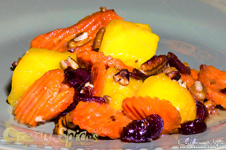 Honey Mango and Carrots