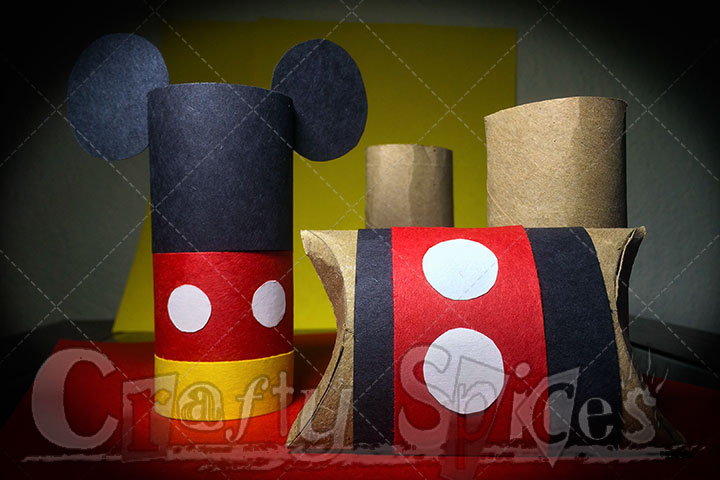 Mickey Mouse crafts
