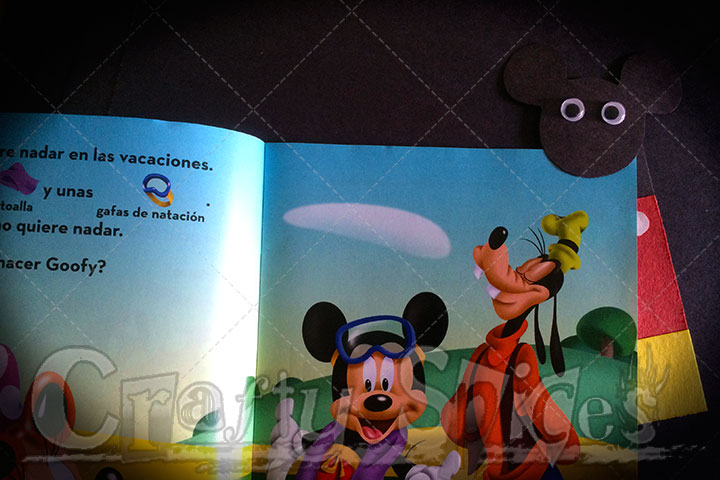 #DisneySide Book marker - craft