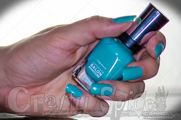 Sally Hansen Complete Salon Nail Polish #CSMTKO Color Jaded