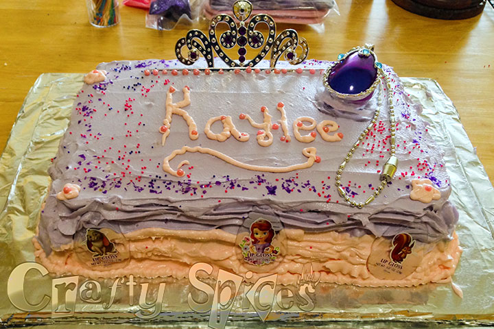 The final Result - Kaylee's Cake