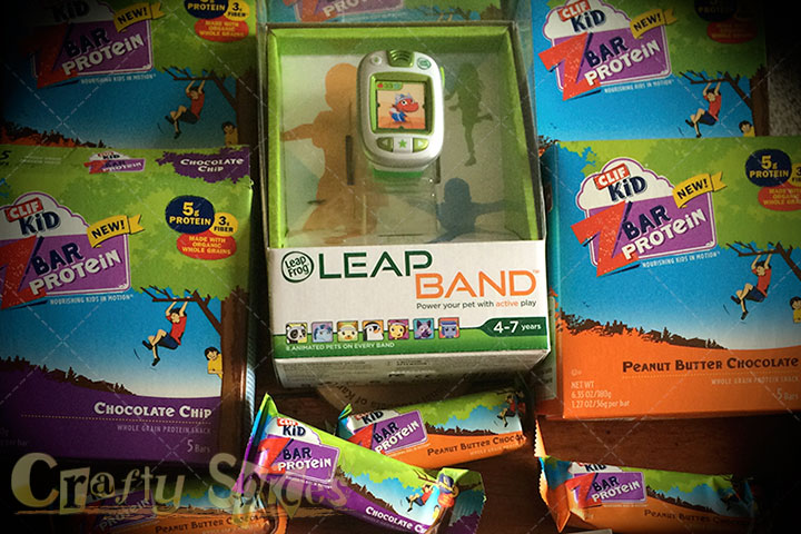 LeapBand and CLIF Kid for FitMadeFun