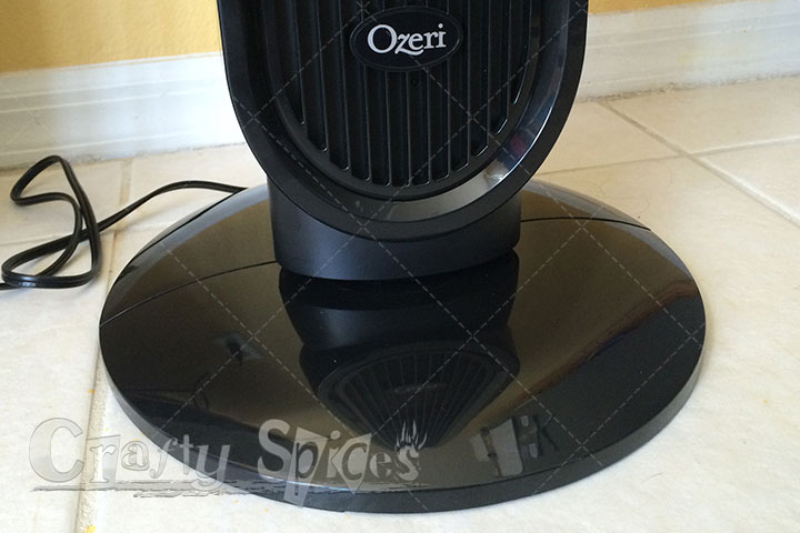 Crafty Spices - Ozeri 360 Oscillation Tower Fan with Micro-Blade