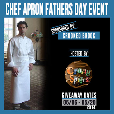 Chef Apron Father's Day Giveaway Event