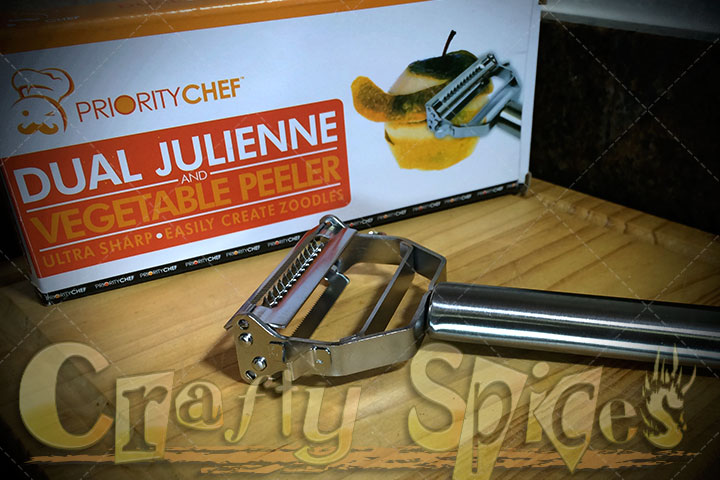 Dual Julienne and Vegetable Peeler