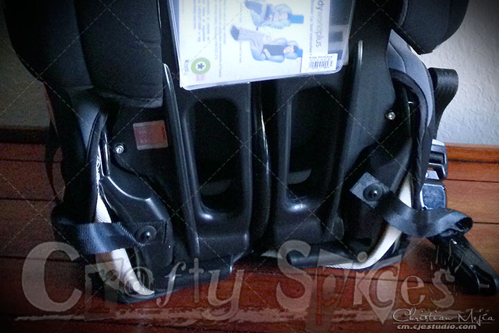 Kiddy World Plus Car Seat, back side