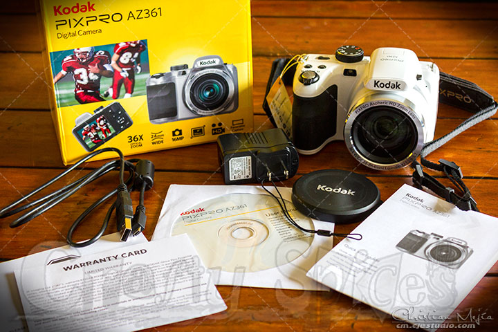 Kodak PIXPRO AZ361 Digital Camera full package