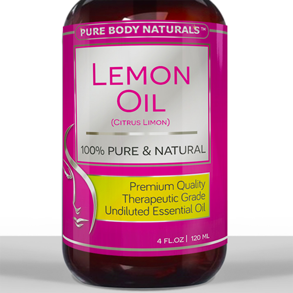 Lemon Oil - 100% Pure & Natural Essential Oil