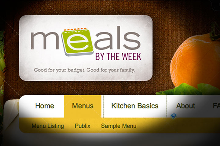 Meals by the Week Meal Planning Subscription
