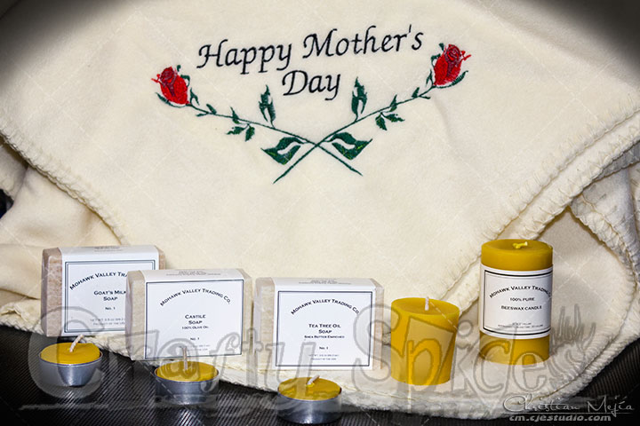 Fleece Blanket, Beeswax Candle & Handmade Soap Mother's Day Giveaway