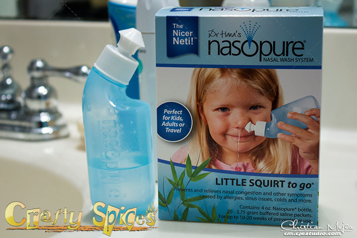 Nasopure Little Squirt to go