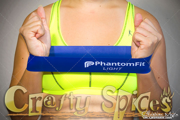 PhantomFit Resistance Loop Bands - Light Band