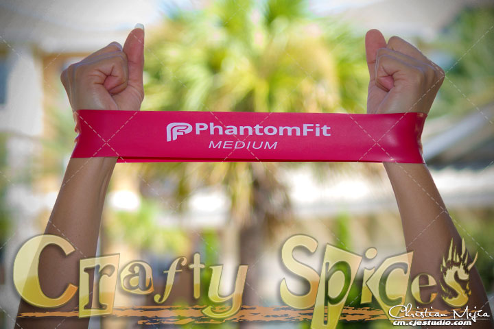 PhantomFit Resistance Loop Bands - Medium Band