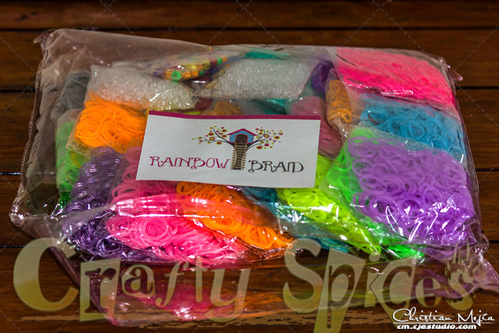 7200 Band MEGA Loom Band Refill Pack