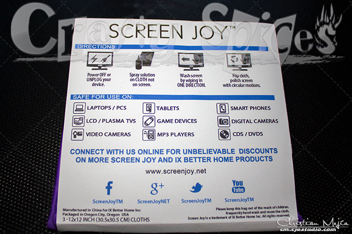 Screen Joy Microfiber Cloths