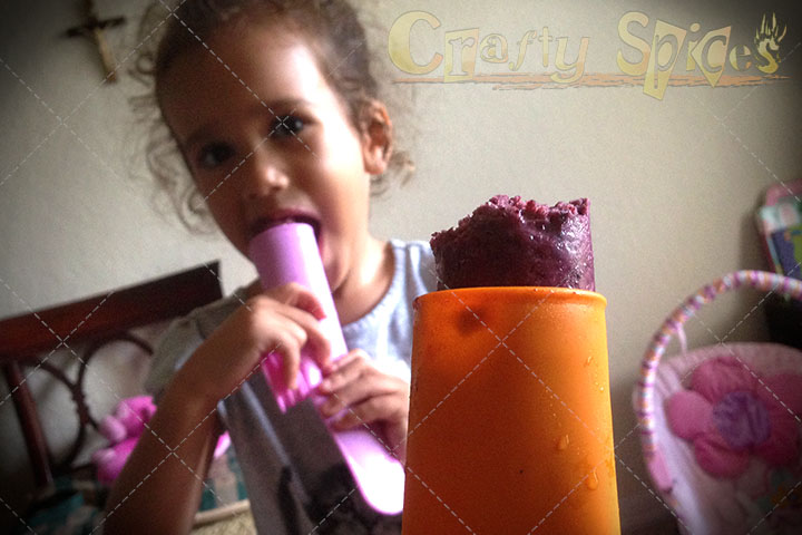 Just enjoying the ice pops made with the Mighty Pops Molds by Sunsella