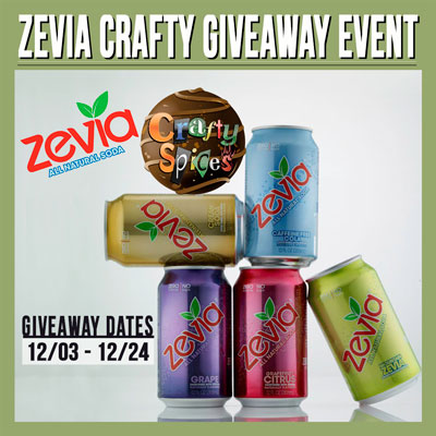 Zevia Giveaway Crafty Event