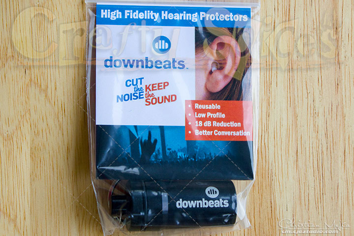 DownBeats High Fidelity Hearing Protectors #downbeats