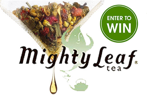 A sweepstakes from Mighty Leaf Tea