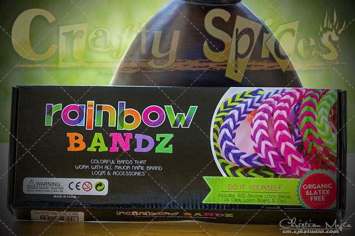 Rainbow Bandz Loom Kit #loomkit