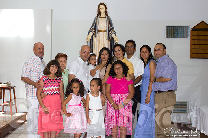 Kaylee's Baptism - The Family
