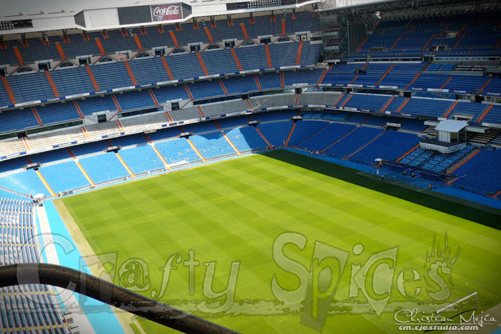 Bernabeu. Real Madrid.