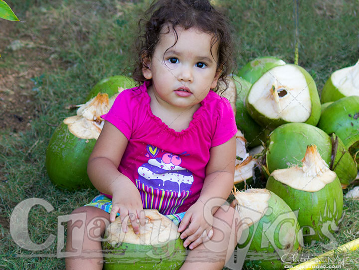 Kaylee with the Coconuts