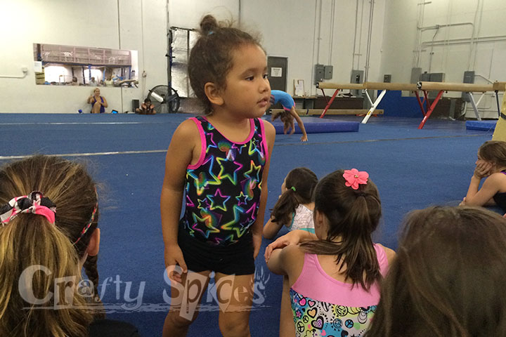Fun at Gymnastics Camp