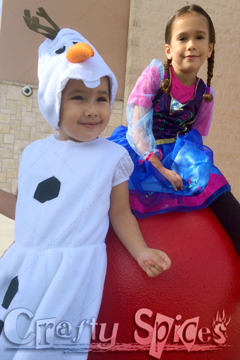 Olaf and Ana out and about