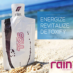 Rain Soul proprietary blend of black cumin seed, raspberry seed, grape seed, and D-ribose offers a punch of powerful nutrition
