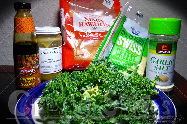 Sweet Kale Sliders - Ingredients