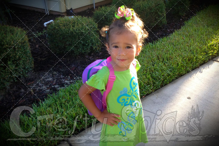 Kira's First Day of School