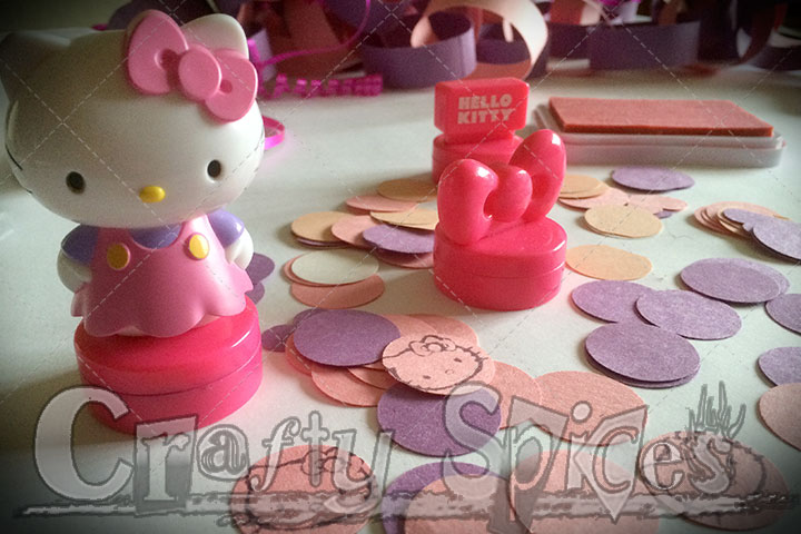 Hello Kitty Party Crafts and Decor