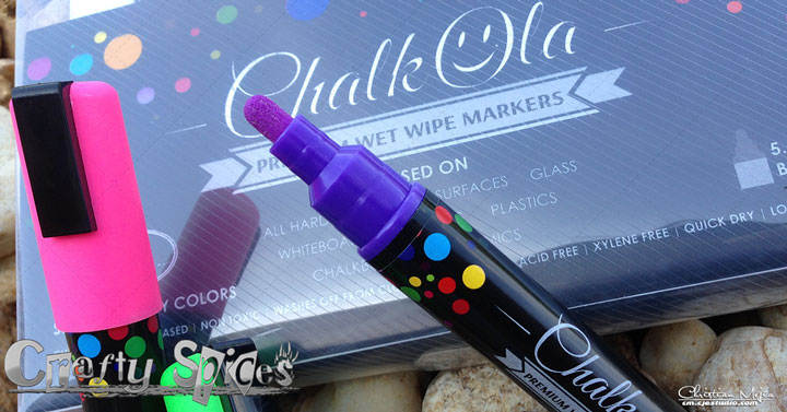 Liquid Chalk Ink Markers by #ChalkOla