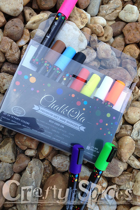 Liquid Chalk Ink Markers by ChalkOla