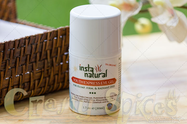Under Eye Treatment Gel for Dark Circles, Puffy Eyes & Sagging Skin from InstaNatural