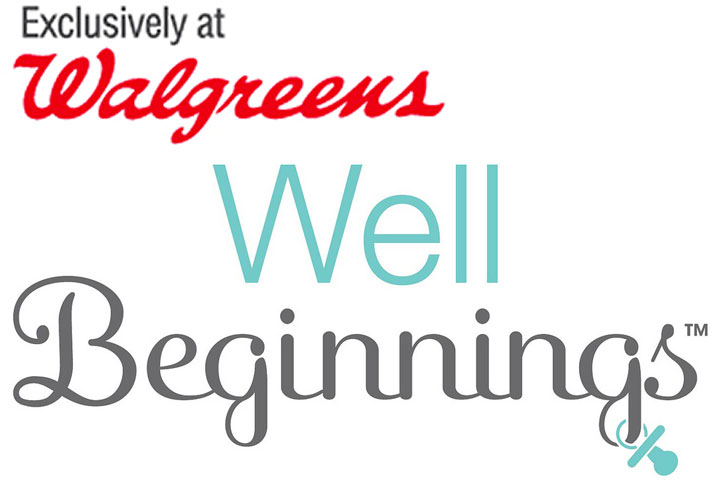 Well Beginnings diapers and wipes at Walgreens