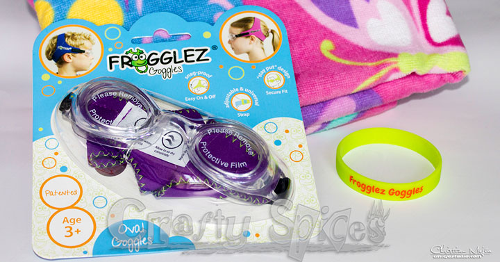 Frogglez Goggles, Comfortable goggles for Kids