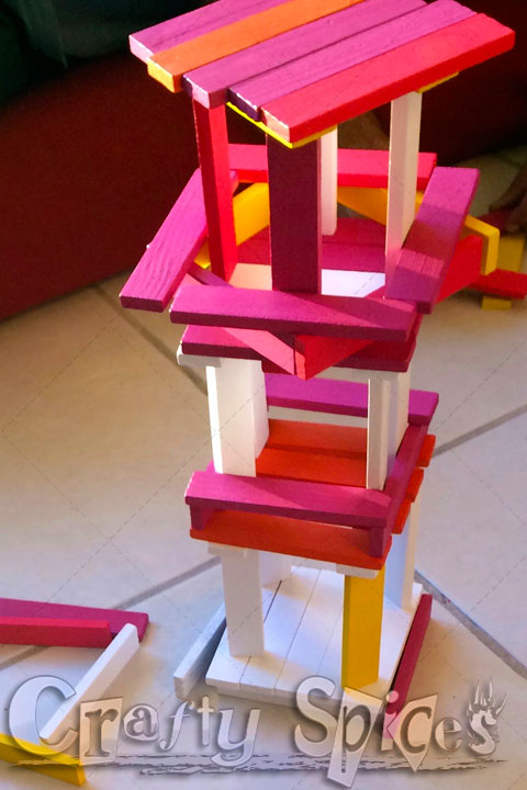 Color-Blocks Tower