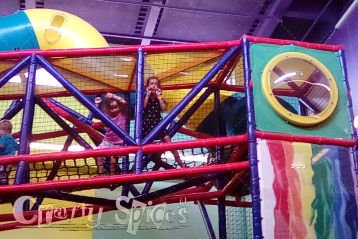 Fun Indoor Colorful Playground
